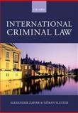 International Criminal Law : A Critical Restatement, Zahar, Alexander and Sluiter, Göran, 0406959048