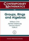 Groups, Rings and Algebras, Passman, Donald S., 0821839047