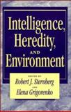 Intelligence, Heredity and Environment, , 052146904X
