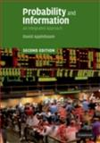 Probability and Information : An Integrated Approach, Applebaum, David, 0521899044