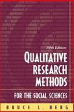 Qualitative Research Methods for the Social Sciences, Berg, Bruce L., 0205379052