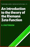 An Introduction to the Theory of the Riemann Zeta-Function, S. J. Patterson, 0521499054