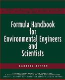 Formula Handbook for Environmental Engineers and Scientists, Bitton, Gabriel, 047113905X