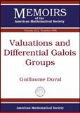 Valuations and Differential Galois Groups, Guillaume Duval, 0821849069