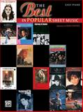Best in Popular Sheet Music, , 0897249062