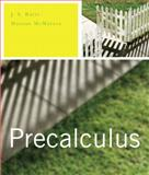 Precalculus plus MyMathLab Student Access Kit, Ratti, J. S. and McWaters, Marcus S., 0321489063