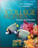 Graphing Calculator Manual for College Algebra Graphs & Models, Coburn, John and Herdlick, J. D., 0077439074