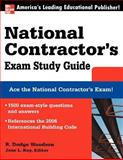 National Contractor's Exam Study Guide, Woodson, R. Dodge, 007148907X