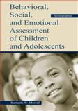 Behavioral, Social, and Emotional Assessment of Children and Adolescents, Merrell, Kenneth W., 0805839070