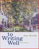 Steps to Writing Well (with 2009 MLA Update Card), Wyrick, Jean, 0495899070