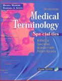 Medical Terminology Specialties 9780803609075