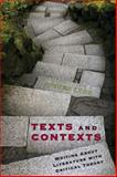 Texts and Contexts : Writing about Literature with Critical Theory, Lynn, Steve, 032144907X