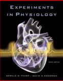 Experiments in Physiology, Tharp, Gerald D. and Woodman, David A., 0805349073