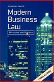 Modern Business Law : Principles and Practice, Merritt, Jonathan, 1903499070