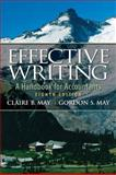Effective Writing : A Handbook for Accountants, May, Claire B. and May, Gordon S., 0136029086
