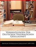 Verhandlungen der Deutschen Physikalischen Gesellschaft, , 1145129080