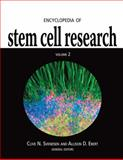 Encyclopedia of Stem Cell Research, Ebert, Allison D. and Svendsen, Clive N., 141295908X
