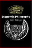 Economic Philosophy, Robinson, Joan, 0202309088