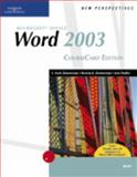 New Perspectives on Microsoft Office Word 2003, CourseCard Edition, Zimmerman, S. Scott and Zimmerman, Beverly B., 1418839094