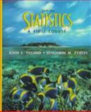 Statistics : A First Course, Freund, John E. and Perles, Benjamin M., 0139599096