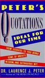 Peter's Quotations, Laurence J. Peter, 0688119093