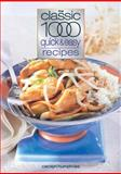 The Classic 1000 Quick and Easy Recipes, Carolyn Humphries, 0572029098