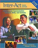 Inter-Act : Interpersonal Communication Concepts, Skills, and Contexts, Verderber, Kathleen S. and Verderber, Rudolph F., 0195169107