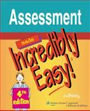 Assessment Made Incredibly Easy!, Springhouse Publishing Company Staff, 0781779103