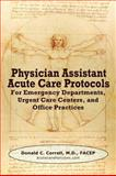 Physician Assistant Acute Care Protocols 9780982819104