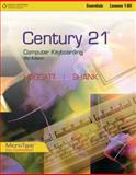 Century 21 Computer Keyboarding, Lessons 1-80, Hoggatt, Jack P. and Shank, Jon A., 0538449101