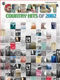 Country Hits of 2002, Alfred Publishing Staff, 0757909108
