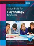 Study Skills for Psychology Students, Latto, Richard and Latto, Jennifer, 0335229107