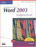 New Perspectives on Microsoft Office Word 2003, Introductory, CourseCard Edition, Zimmerman, S. Scott and Zimmerman, Beverly, 1418839108
