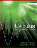 Calculus - Early Transcendental Functions, Smith, Robert and Minton, Roland, 0077969111