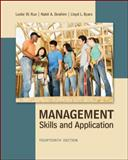 Management : Skills and Application, Rue and Byars, 0078029112