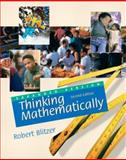 Thinking Mathematically, Blitzer, Robert, 0130499110