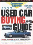 Used Car Buying Guide 1999, Consumer Reports Books Editors, 0890439117