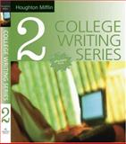 The Dolphin Writer Bk. 2 : Composing Paragraphs and Crafting Essays, Houghton Mifflin Co., 0618379118