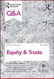 Q and A Equity and Trusts 2011-2012, Ramjohn, Mohamed, 0415599121