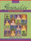 Personality Theories : Development, Growth, and Diversity, Allen, Bem P., 0205439128