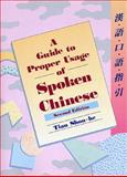 A Guide to Proper Usage of Spoken Chinese, Shou-be, Tian, 9622019129