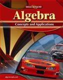 Algebra : Concepts and Applications, Cummins, Jerry and Malloy, Carol, 0078799120