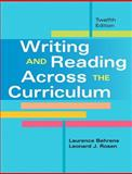 Writing and Reading Across the Curriculum with NEW MyCompLab -- Access Card Package, Behrens, Laurence and Rosen, Leonard J., 0321929128