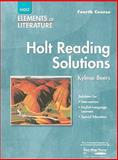Elements of Literature, Holt, Rinehart and Winston Staff, 0030739136