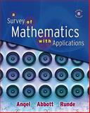 Survey of Mathematics with Applications Value Pack (includes MyMathLab/MyStatLab Student Access Kit and Student's Solutions Manual for A Survey of Mathematics with Applications), Angel and Angel, Allen R., 0321589130