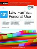 101 Law Forms for Personal Use, Editors of Nolo, 1413319130