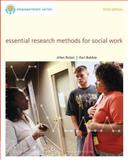 Essential Research Methods for Social Work 9780840029133