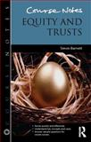 Equity and Trusts, Simon Barnett, 0415839130