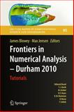 Frontiers in Numerical Analysis - Durham 2010, , 3642239137