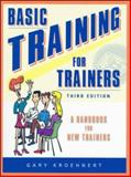 Basic Training for Trainers, Kroehnert, Gary, 0074709135